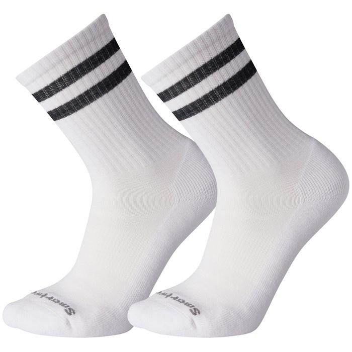 Smartwool - Athletic Light Elite Stripe Crew 2-Pack Socks