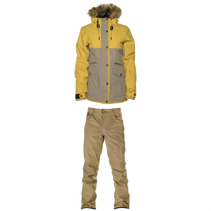 Saga - Oxford Parka + Saga Aspen Pants - Women's