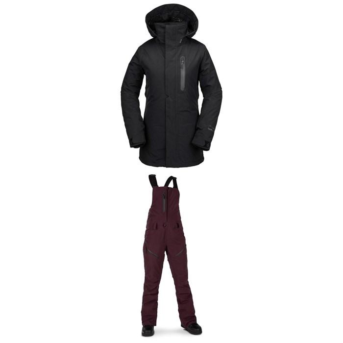 Volcom - Eva Insulated GORE-TEX Jacket + Volcom Elm GORE-TEX Bib Overalls - Women's