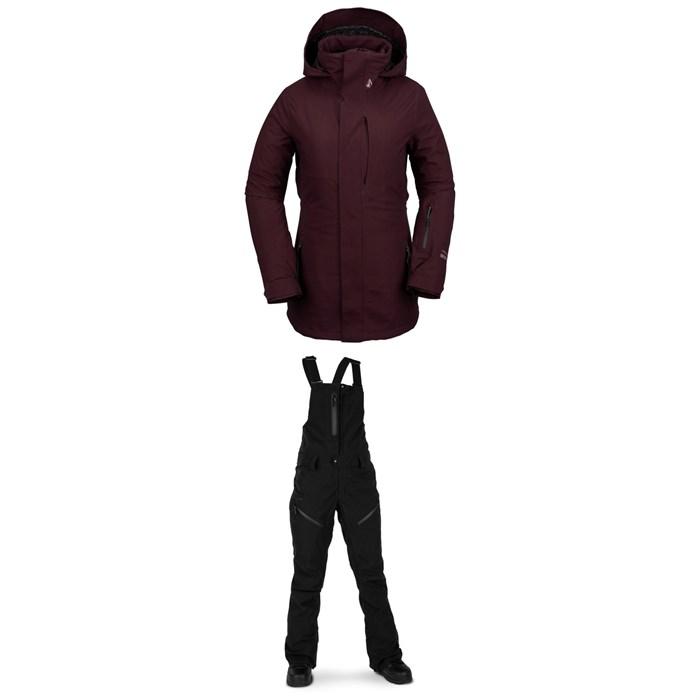 Volcom - 3D Stretch GORE-TEX Jacket + Elm GORE-TEX Bib Overalls - Women's
