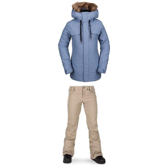 Volcom - Shadow Insulated Jacket + Species Stretch Pants - Women's
