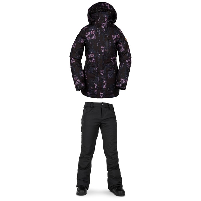 Volcom - Shelter 3D Stretch Jacket +Grail 3D Stretch Pants - Women's