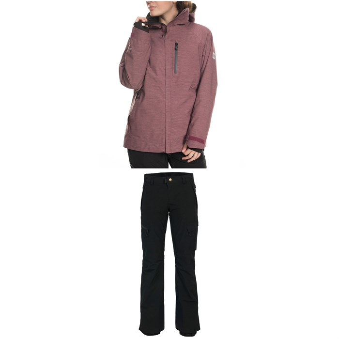 686 - GLCR Hydrastash Reservoir Insulated Jacket + 686 GLCR Geode Thermagraph Pants - Women's
