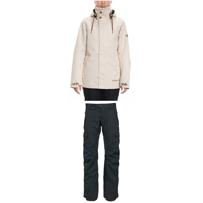 686 - Smarty 3-in-1 Spellbound Jacket + 686 Smarty 3-in-1 Cargo Pants - Women's