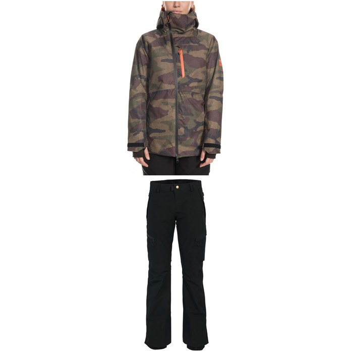 686 - GLCR Hydra Insulated Jacket + 686 GLCR Geode Thermagraph Pants - Women's