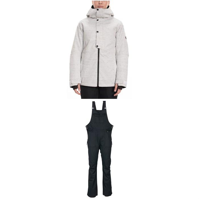686 - Rumor Insulated Jacket + 686 Black Magic Insulated Bibs - Women's