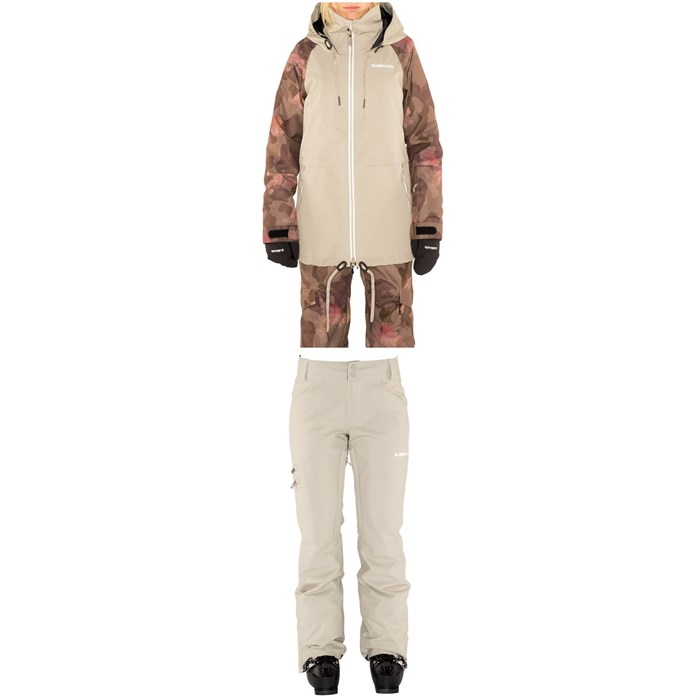 Armada - Gypsum Jacket + Whit Pants - Women's