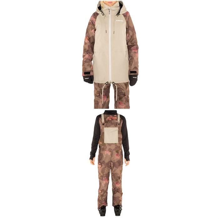 Armada - Gypsum Jacket + Cassie Overall - Women's