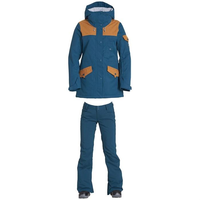 Billabong - Scenic Route Jacket + Billabong Terry Stretch Pants - Women's