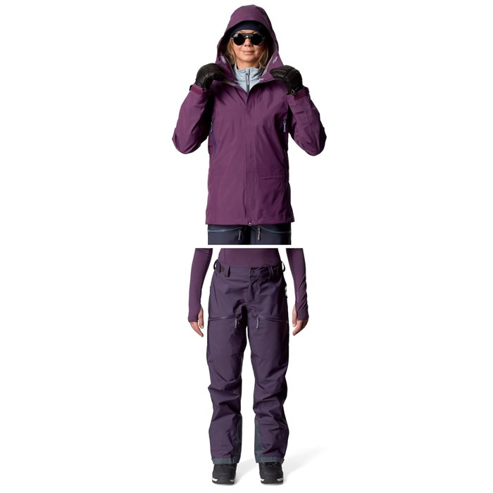 Houdini - D Jacket + Houdini Purpose Pants - Women's