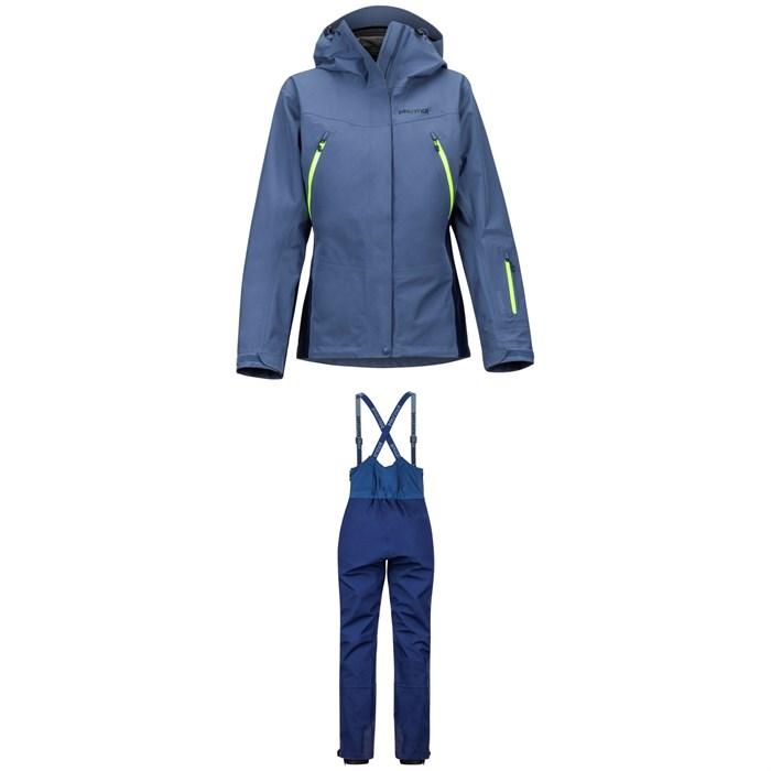 Marmot - Spire Jacket + Marmot Spire Bibs - Women's