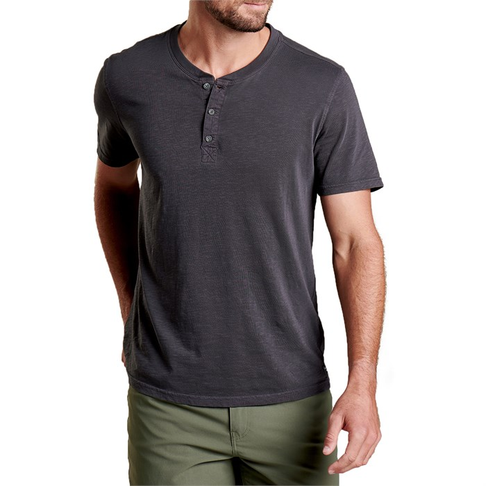 Toad & Co - Primo Short-Sleeve Henley Shirt