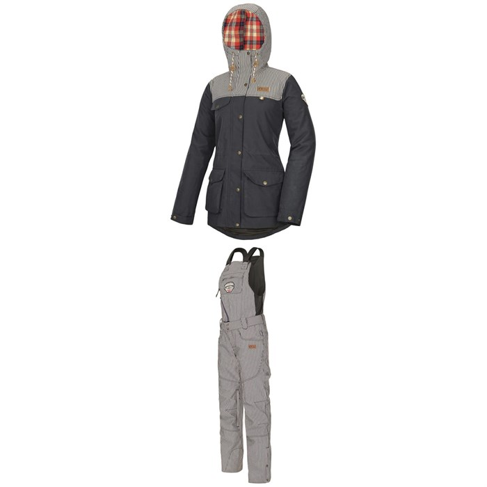 Picture Organic - Kate Jacket + Seattle Bibs - Women's