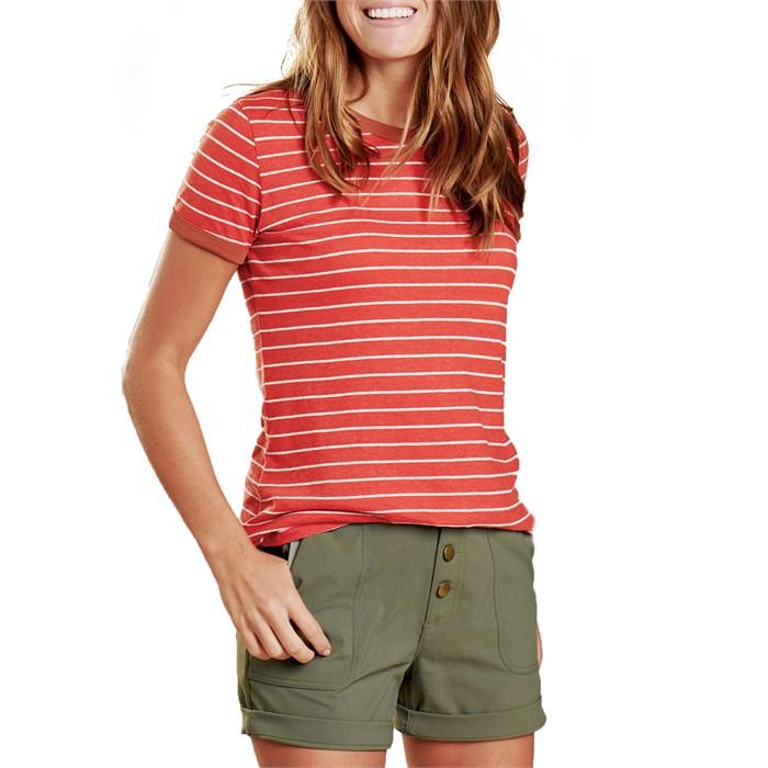 Toad & Co - Grom Ringer T-Shirt - Women's