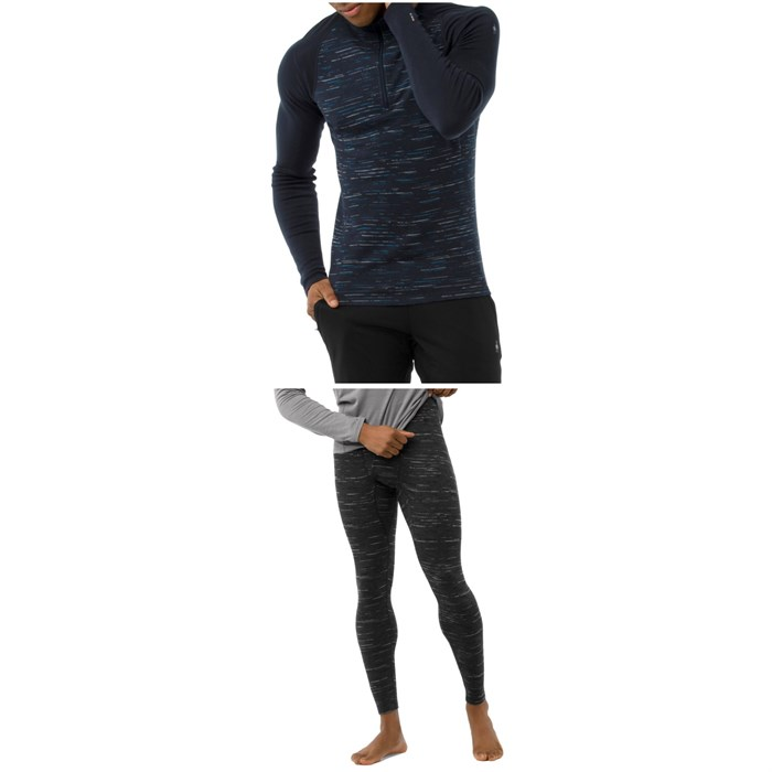 Smartwool - Merino 250 Baselayer Pattern 1/4 Zip Top + Bottoms 2019