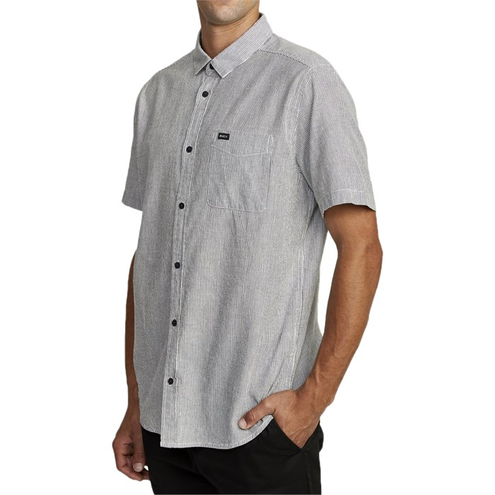 RVCA - Endless Seersucker Short-Sleeve Shirt