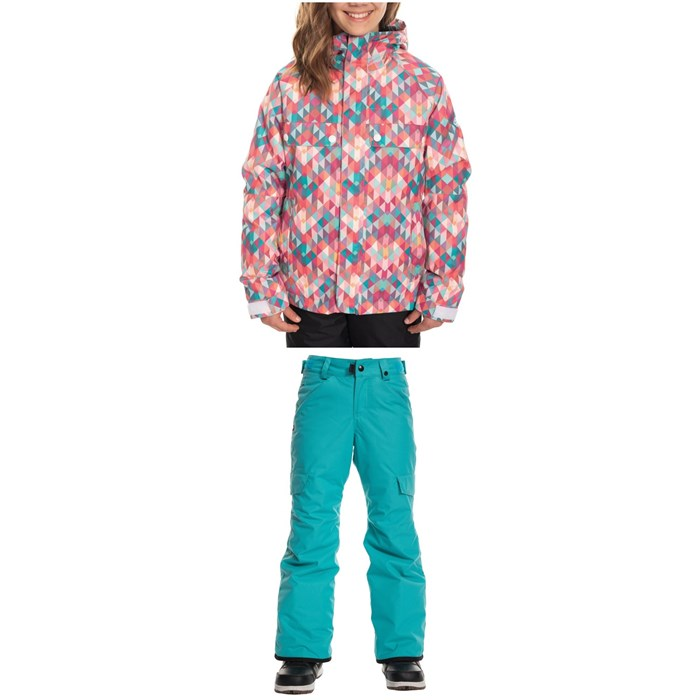 686 - Dream Insulated Jacket + Lola Insulated Pants - Big Girls'