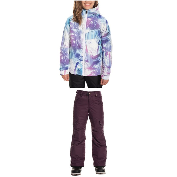 686 - Speckle Insulated Jacket + Lola Insulated Pants - Big Girls'