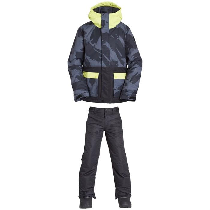 Billabong - Fifty 50 Jacket + Grom Pants - Big Boys'