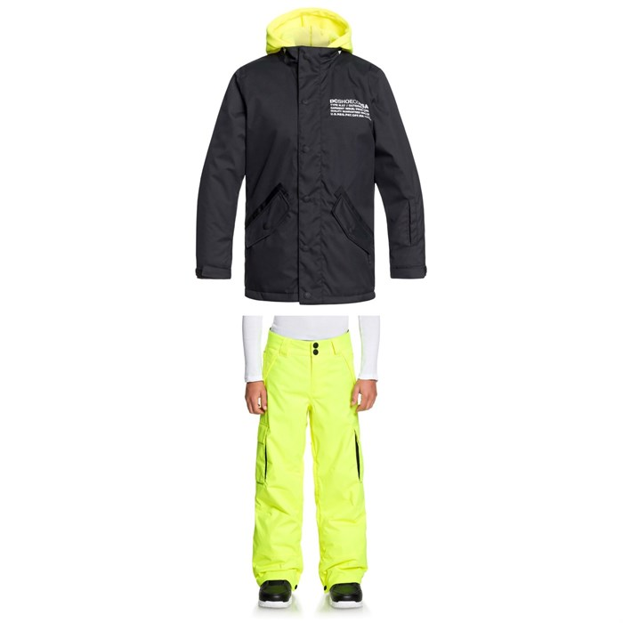 DC - Union Jacket + Banshee Pants - Boys'