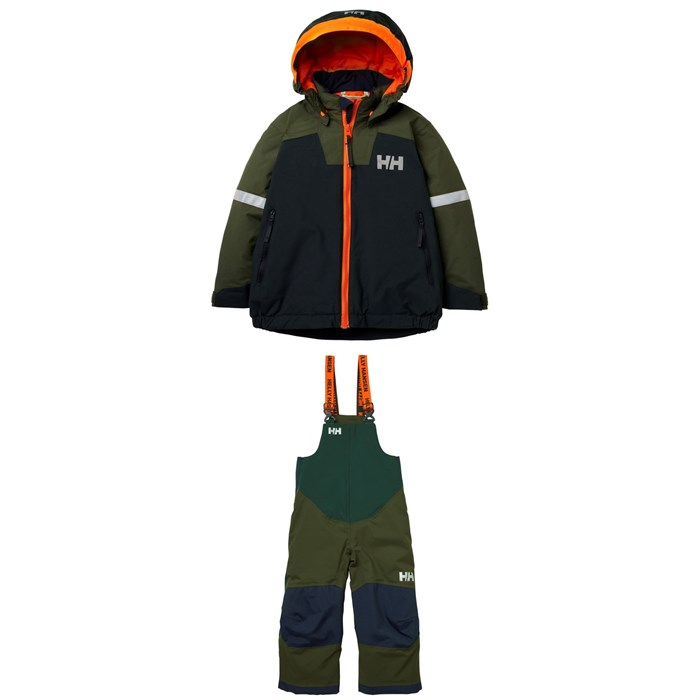 Helly Hansen - Legendary Insulated Jacket + Rider 2 Bibs - Little Kids'
