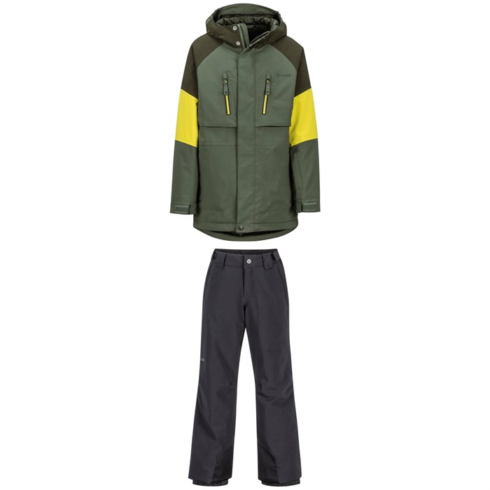 Marmot - Gold Star Jacket + Marmot Vertical Pants - Big Boys'