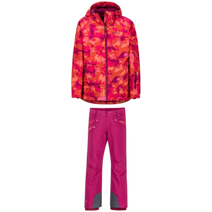 Marmot - Refuge Jacket + Marmot Slopestar Pants - Big Girls'