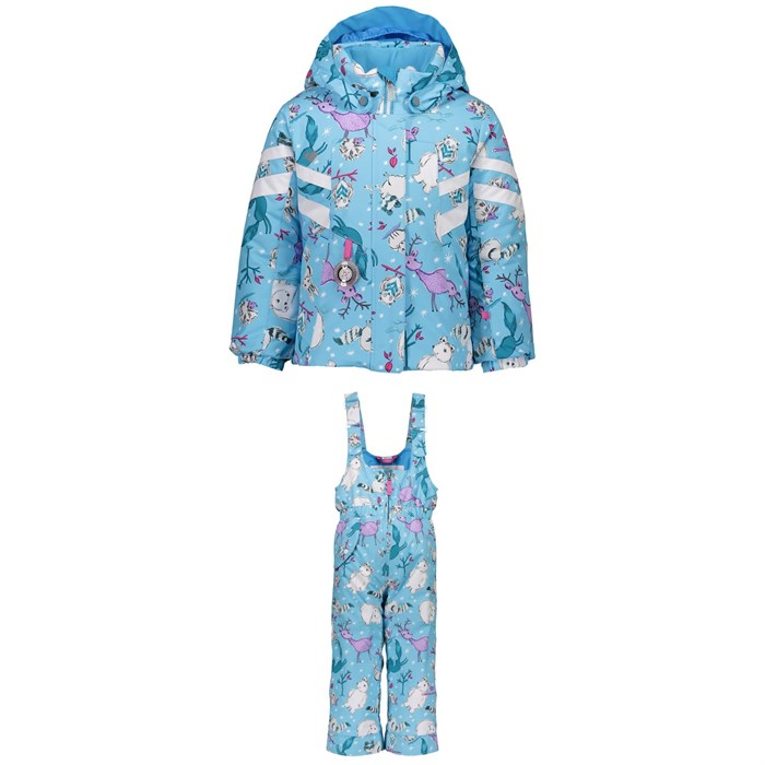 Obermeyer - Neato Jacket + Snoverall Printed Pants - Little Girls'