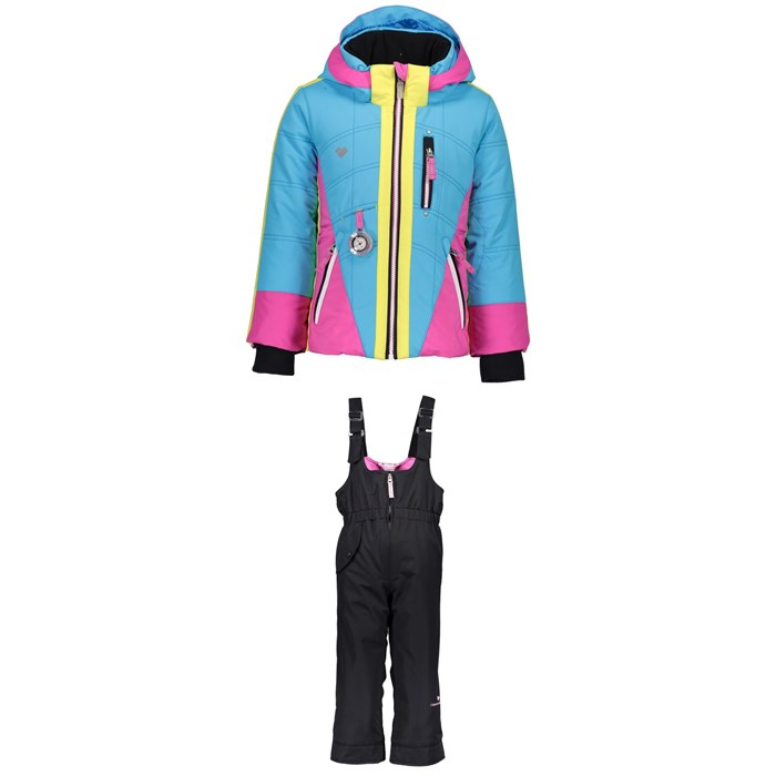 Obermeyer - Hey Sunshine Jacket + Snoverall Pants - Little Girls'