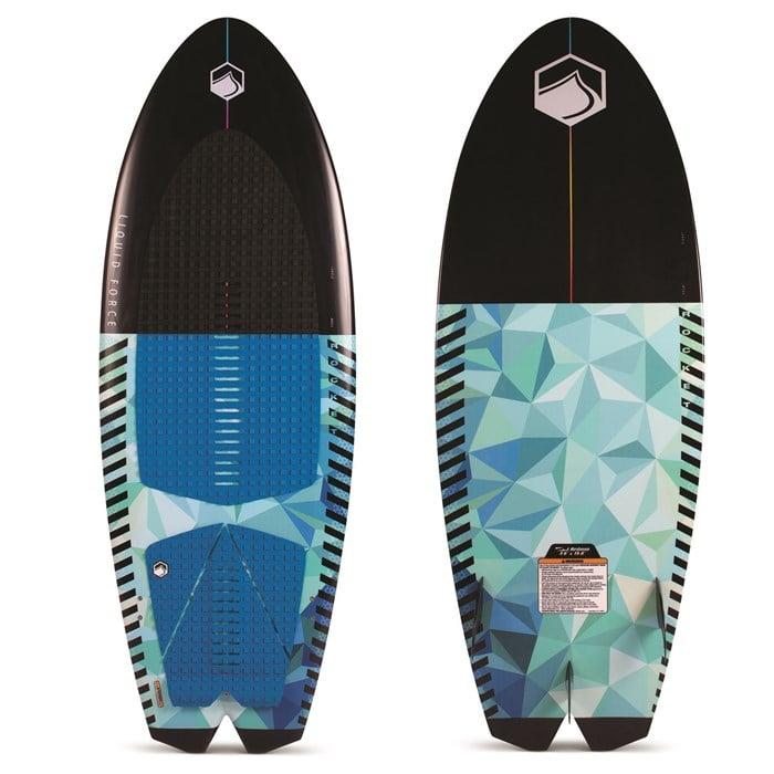 Liquid Force - Rocket Wakesurf Board with Surf Rope 2020
