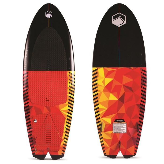 Liquid Force - Rocket Wakesurf Board with Surf Rope 2021