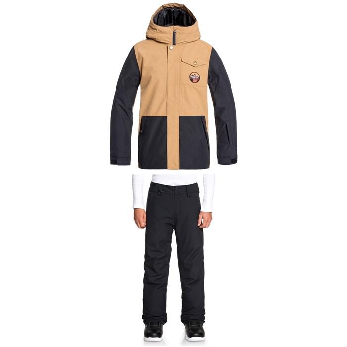 Quiksilver - Ridge Jacket + Quiksilver Estate Pants - Big Boys'