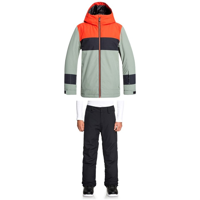 Quiksilver - Sycamore Jacket + Estate Pants - Big Boys'