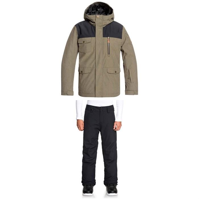 Quiksilver - Raft Jacket + Estate Pants - Big Boys'