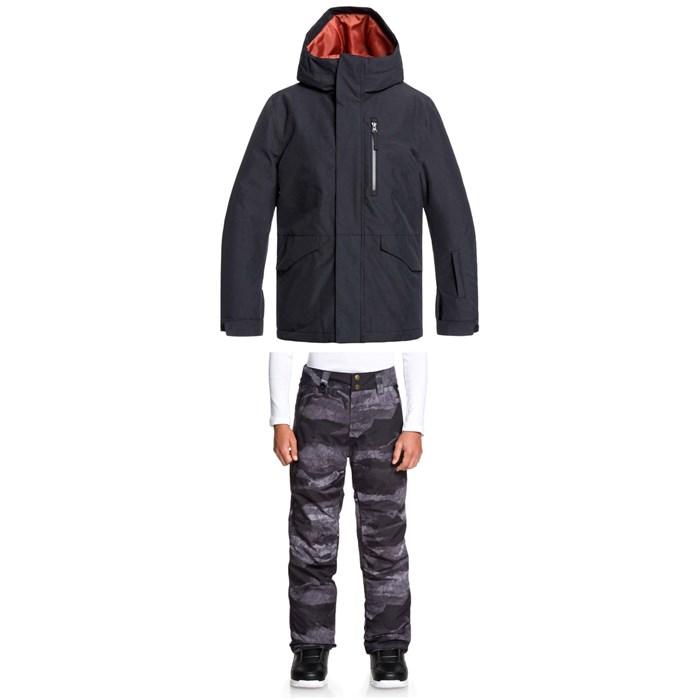 Quiksilver - Mission Jacket + Estate Pants - Big Boys'