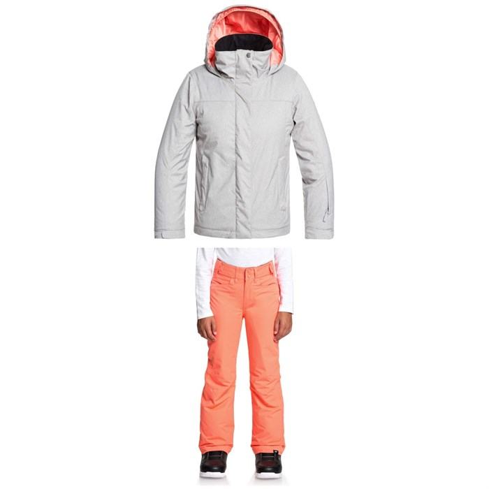 Roxy - Jetty Solid Jacket + Backyard Pants - Big Girls'