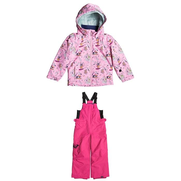 Roxy - Mini Jetty Jacket + Lola Bib Pants - Little Girls'