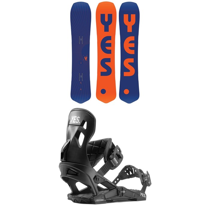 Yes. - The Y. Snowboard + Now x Yes Snowboard Bindings 2020