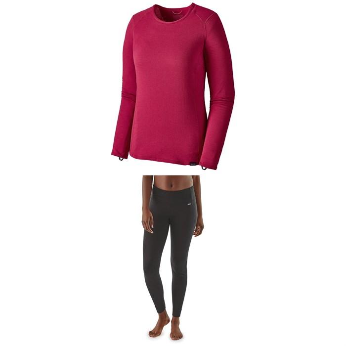 Patagonia - Capilene® Thermal Weight Crew + Patagonia Capilene® Thermal Weight Pants - Women's