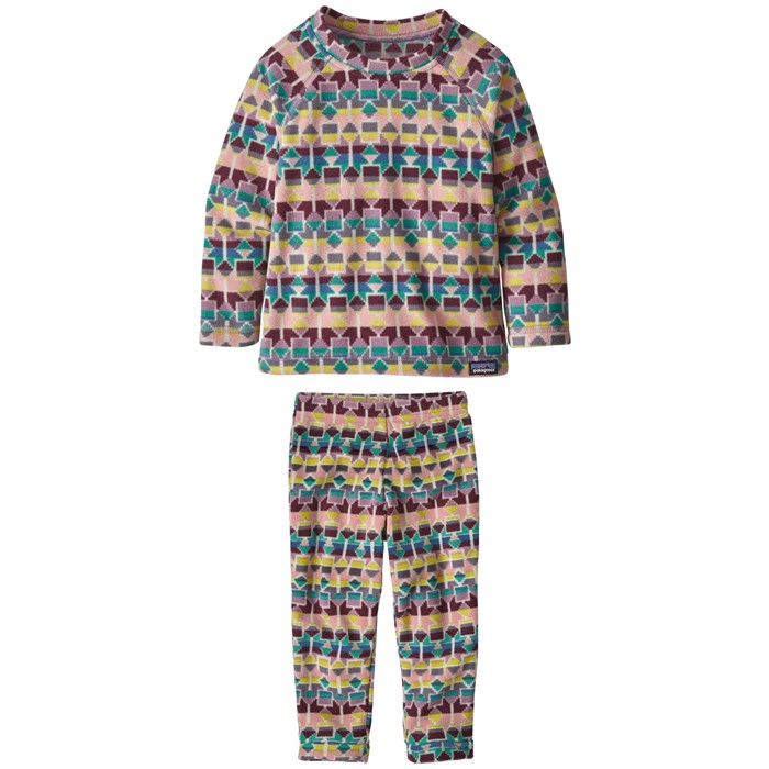 Patagonia - Micro D® Fleece Crew + Patagonia Micro D® Bottoms - Toddlers'