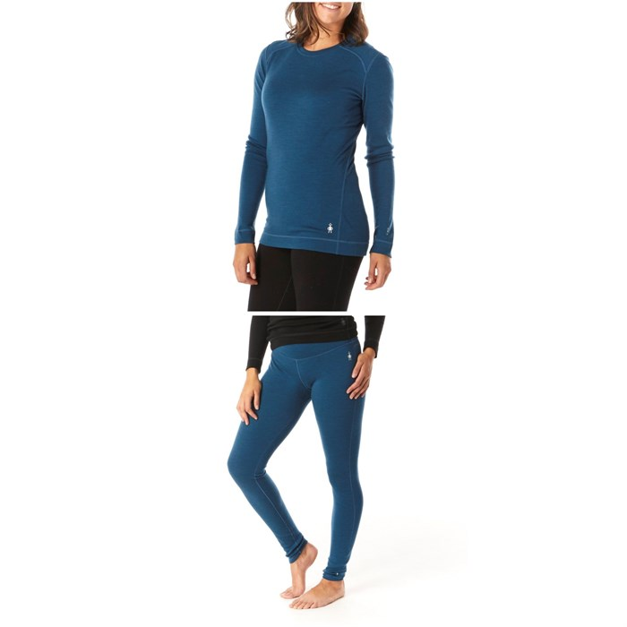 Smartwool - Merino 250 Baselayer Crew + Bottoms - Women's