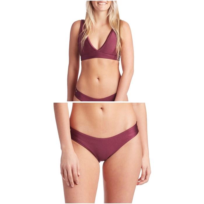 Maaji - Beach Plum Allure Reversible Bikini Top & Beach Plum Sublime Signature Reversible Bikini Bottoms - Women's