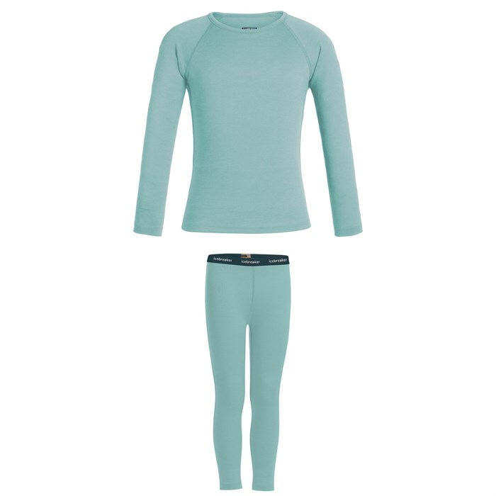 Icebreaker - 200 Oasis Long Sleeve Crew + Leggings - Kids'