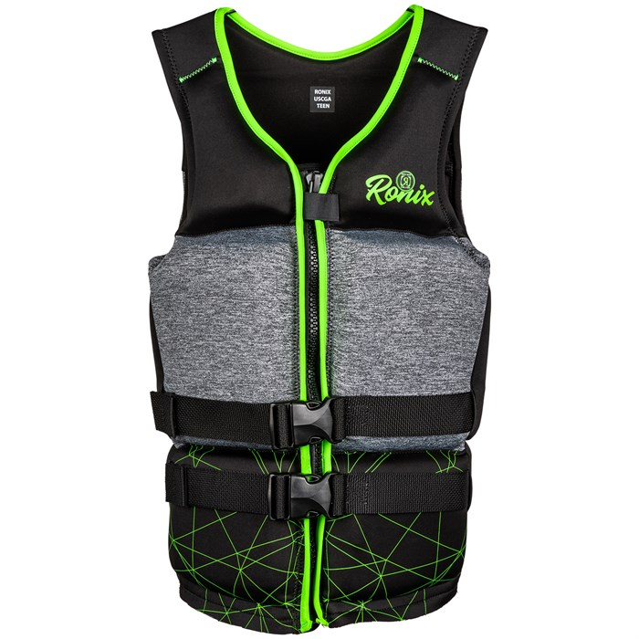 Ronix - Driver's Ed Capella 3.0 CGA Wake Vest - Boys' 2022