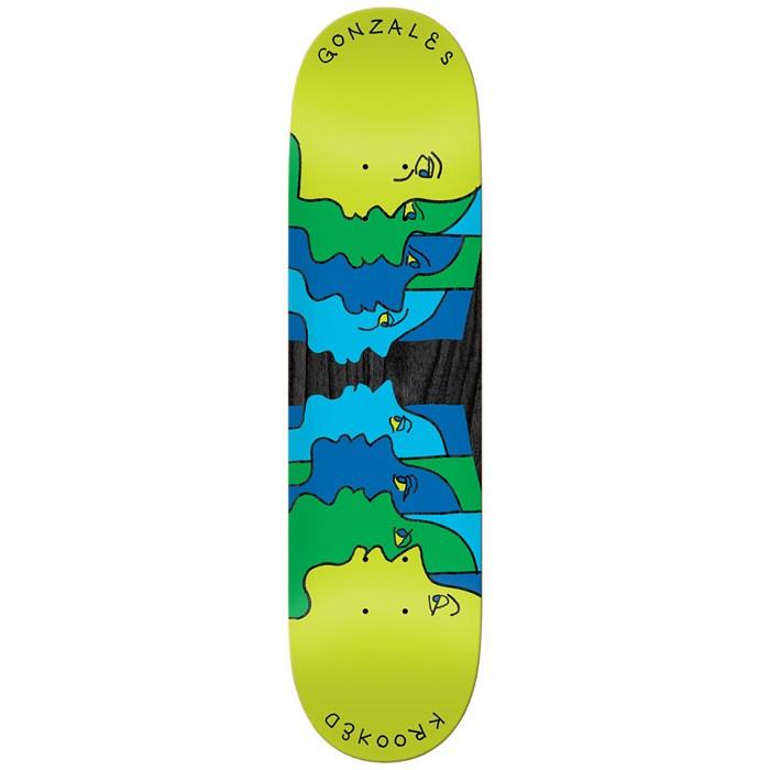 Krooked - Gonz Face Off 8.62 Skateboard Deck