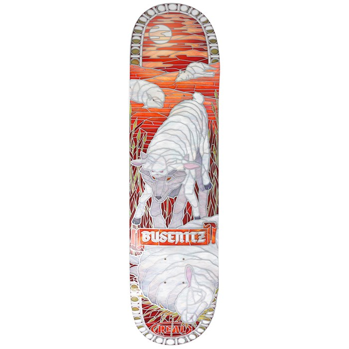 Real - Busenitz Cathedral II 8.06 Skateboard Deck