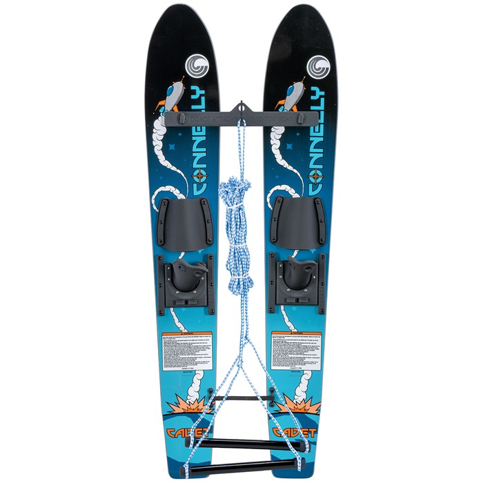 Connelly - Cadet Water Skis + Child Slide Adjustable Bindings - Kids'