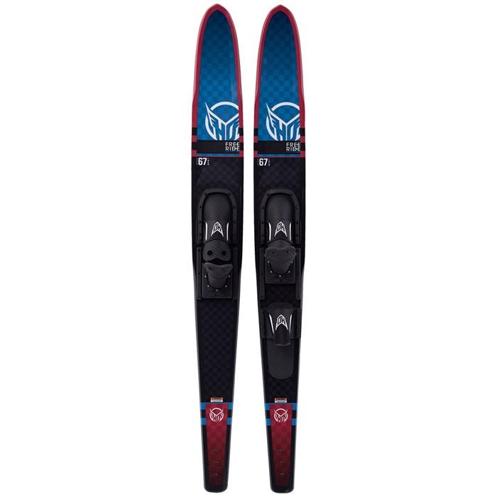 HO - Freeride Combos Water Skis + Adjustable Horseshoe Bindings