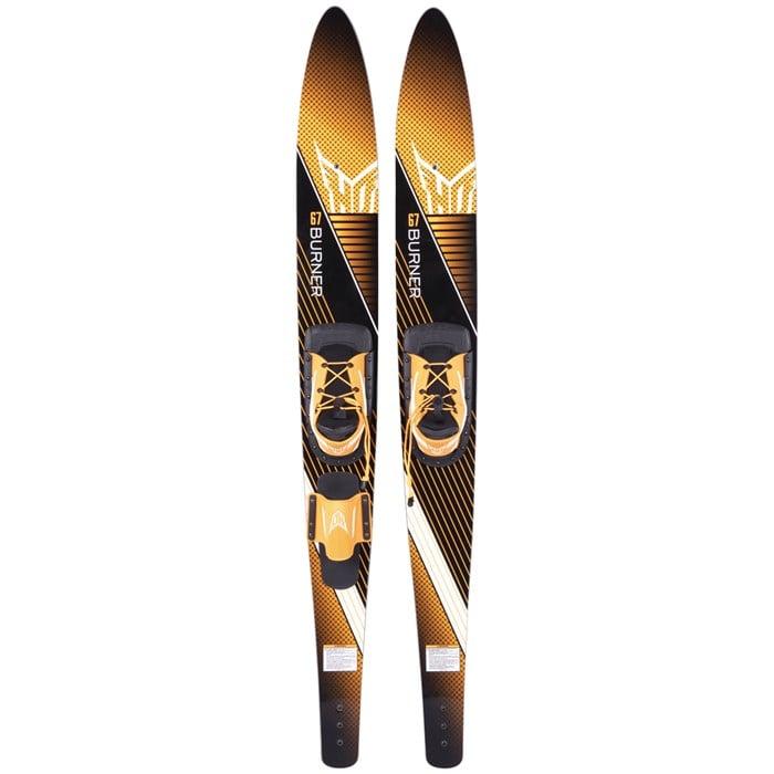 HO - Burner Water Skis + Adjustable Horseshoe Bindings
