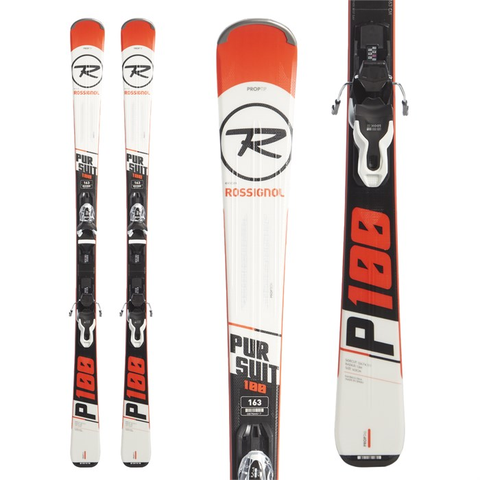 Rossignol Pursuit 100 Skis + Xpress 10 Demo Bindings 2019